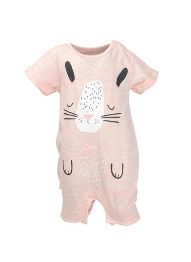 Mininio Pembe Bunny Face Tulum (0-18ay) Pembe Bunny Face Tulum (0-18ay) Pembe